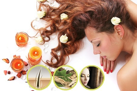 Herbal hair loss prevention